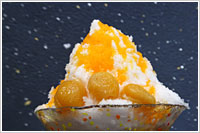 Shaved ice Apricot